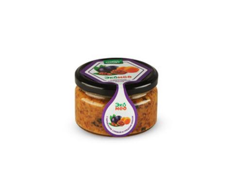 Экомед с абрикосом, сливой и грецким орехом 250 гр. Интернет магазин чая