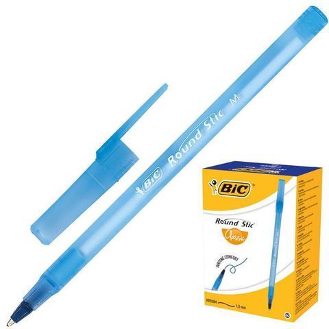 Ручка шариковая Bic Раунд Стик синяя, 921403,0,4 мм