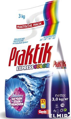 Стиральный порошок Praktik Express Color  3 кг