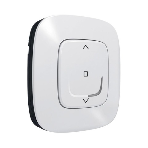 Выключатель управления жалюзи/рольставни беспроводной. Цвет Белый. Valena Allure NETATMO. 752591