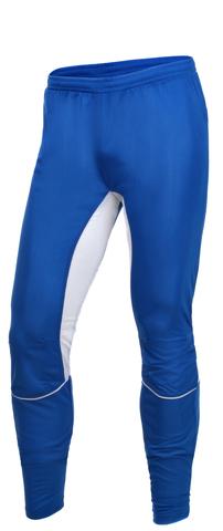 Брюки для бега Olle нейлоновые унисекс (OL2385) синий/белый