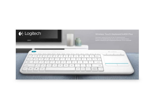 Logitech K400 Plus white box