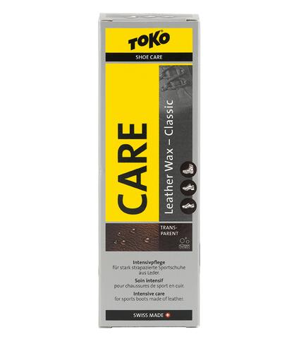 пропитки Toko Leather Wax Transparent - Beeswax 75ml