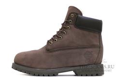 Ботинки Timberland 10061 Waterproof Chocolate Мужские Осенние