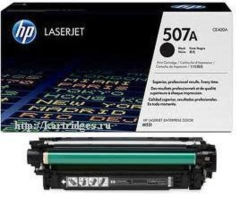 Картридж Hewlett-Packard (HP) CE400A №507A