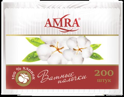 Bumfa Group Amra Ватные палочки (в пакете) 200шт