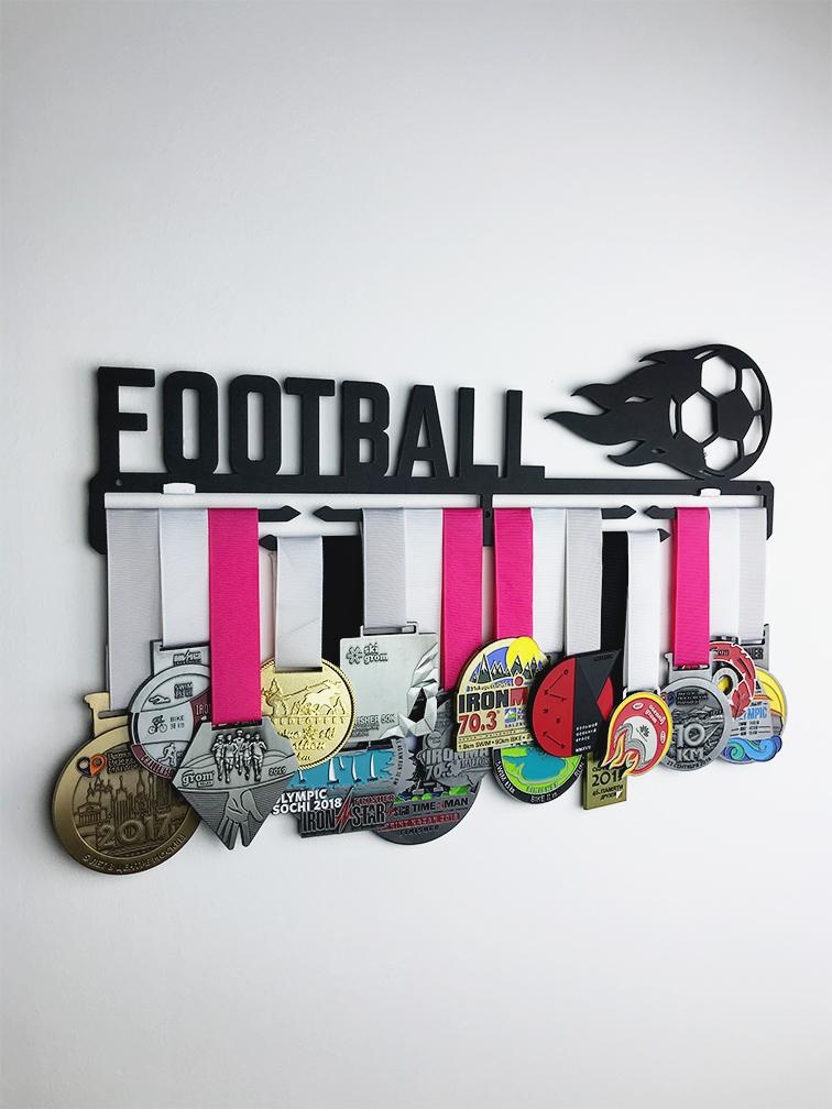 Медальница Football (черный)