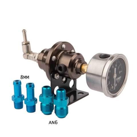 Регулятор TOMEI давления топлива с манометром Type S
