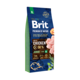 Brit Premium by Nature Junior XL Сухой корм для молодых собак, гигантских пород, с курицей 18 кг. (532230)