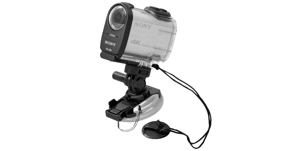 Крепление на липучке Sony VCT-BDM1 с камерой
