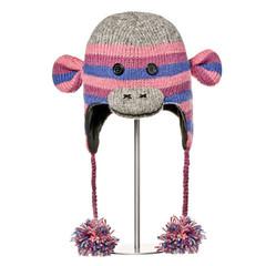 Шапка-обезьянка детская Knitwits Stripe Sock Monkey