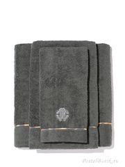 Набор полотенец 3 шт Roberto Cavalli Basic темно-серый