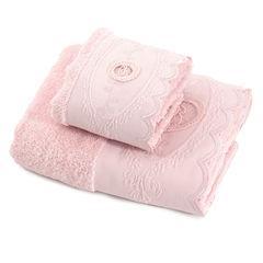 Набор полотенец 2 шт Blumarine Anjelica розовый