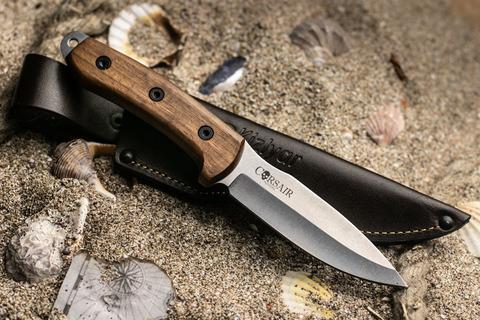 Туристический нож Corsair AUS-8 StoneWash Орех