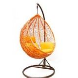 Подвесное кресло большое Kvimol КМ-0001 Orange