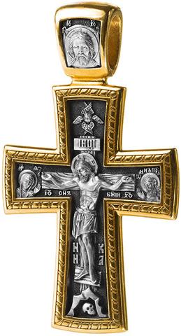 Распятие Христово. Деисус. Вмч. Георгий Победоносец. Православный крест
