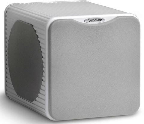 "Velodyne MICROVEE 6.5"", white aluminum, сабвуфер активный"