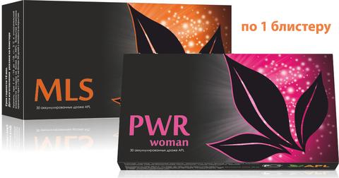 APL. Аккумулированные драже APLGO MLS+PWR woman для избавления от паразитов, поддержания женского здоровья по 1 блистеру