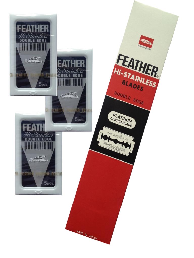 Блок сменных лезвий Feather