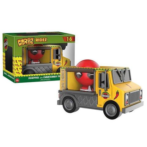 Фигурка Funko Dorbz Ridez: Marvel: Deadpool  Chimichanga Truck 11304