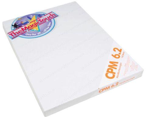 Термотрансферная бумага The Magic Touch CPM 6.2 A4 для термопереноса на нетканевые (твердые) поверхности