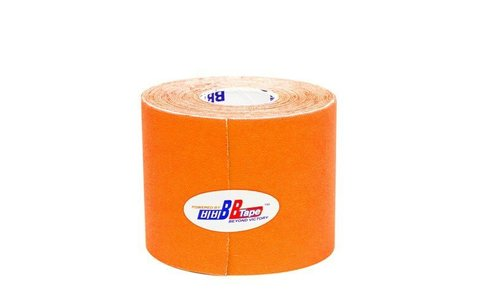 BBtape кинезио тейп 5см х 5м неоновый (оранжевый)