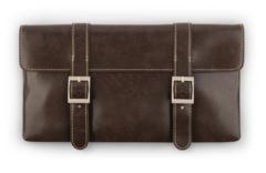 Сумка-клатч через плечо Moshi Treya Clutch - Oak Brown коричневый