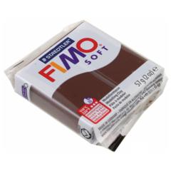Полимерная глина FIMO Soft (шоколадный) 57г