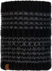 Вязаный шарф-труба с флисом Buff Neckwarmer Knitted Polar Kostik Black