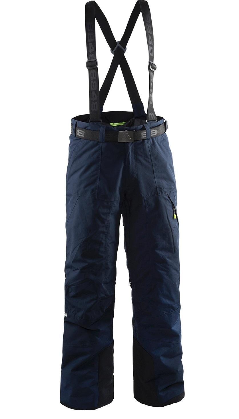 Мужские горнолыжные брюки 8848 Altitude Base 67 (702715) с подтяжками five-sport.ru