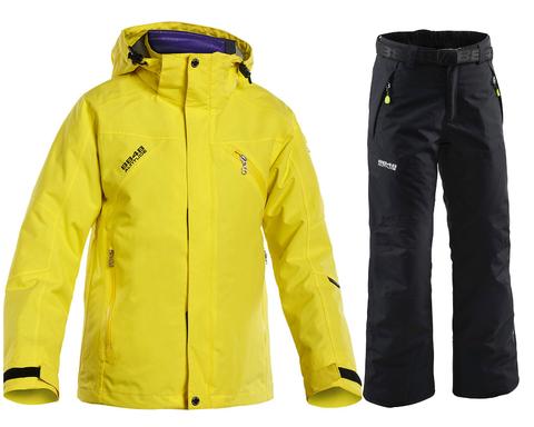 Детский горнолыжный костюм 8848 Altitude Troy/Inca yellow