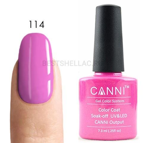 Canni Canni, Гель-лак № 114, 7,3 мл 114.jpg