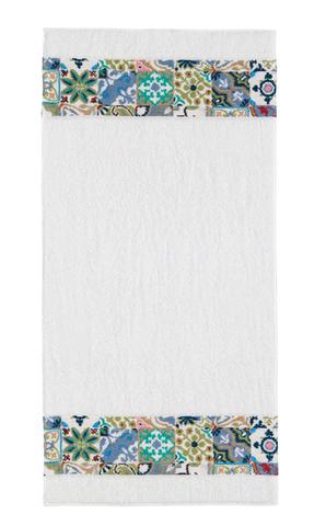 Полотенце 50x100 Feiler Manacor border white