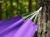 Гамак из льна фиолетовый  RG15F