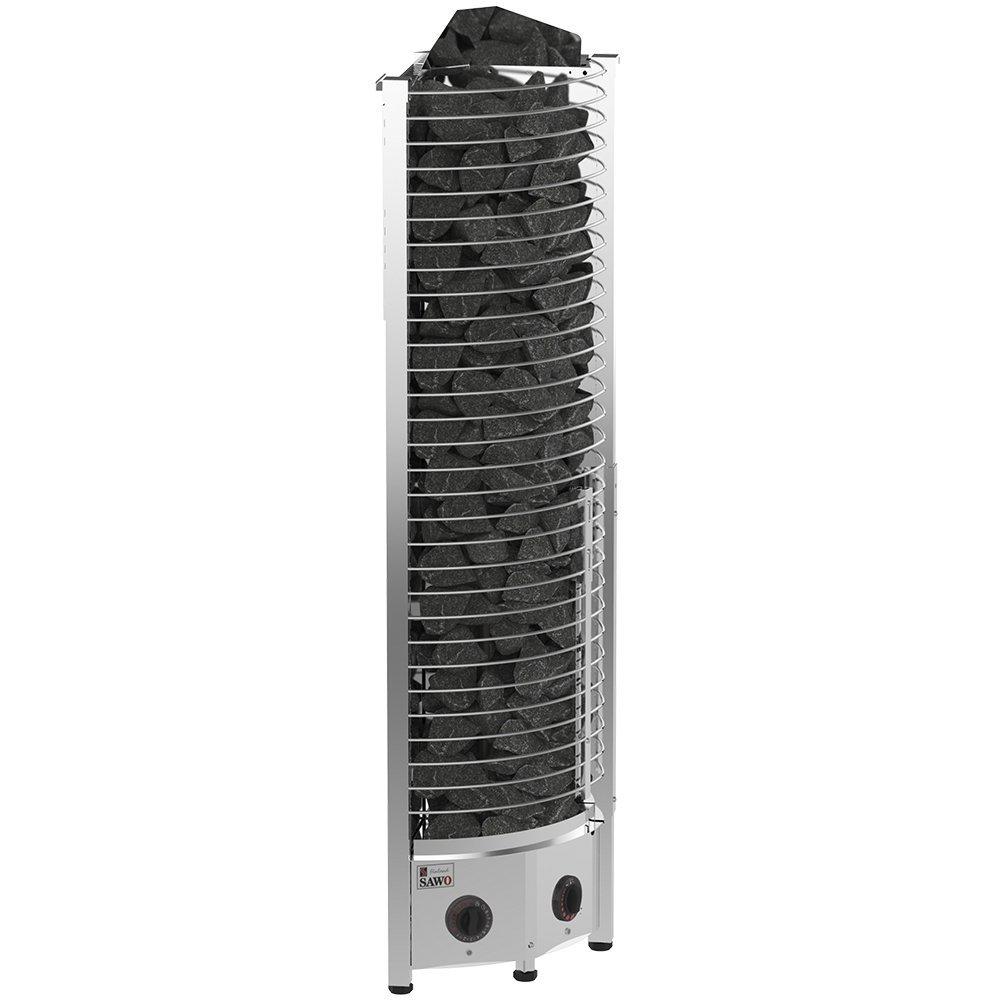 Серия Tower: Электрическая печь PREMIUM, угловая, 3,5 кВт, артикул TH3-35NB-CNR-P