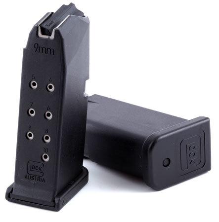 Магазин для Glock 26 на 10 патронов 9 mm