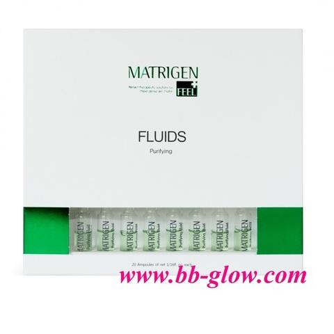 Сыворотки Matrigen Purifying Fluids 1 коробка 20 ампул по 2 мл.