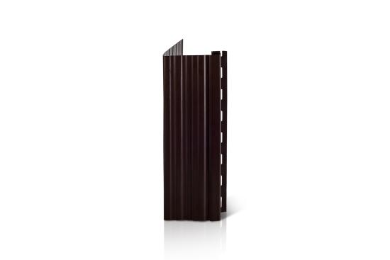 Фасадный декор Доломит - Околооконная планка Вертикальная Корица