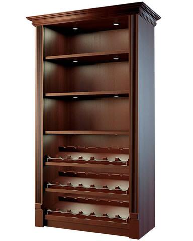 фото 1 Шкаф для алкоголя с держателями для винных бутылок Евромаркет LD 002 на profcook.ru
