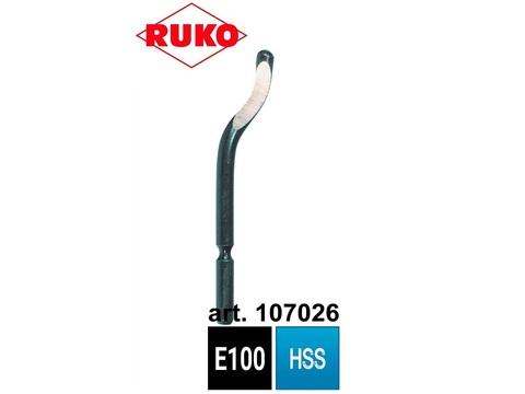 Лезвие для гратоснимателя Ruko Unigrat E100 HSS d.3,2мм 107026