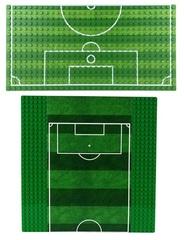 Футбольное поле для минифигурок
