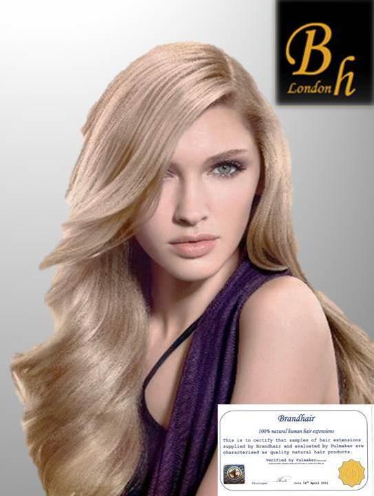 Набор мега 9 прядей,цвет#23-Светло-русый пепельный блонд-Вес набора 150 грамм