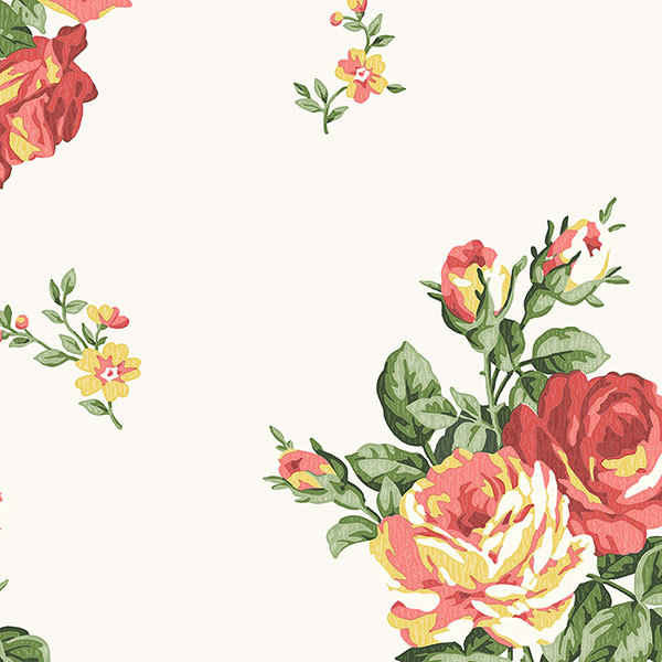 Обои Aura English Florals G34313, интернет магазин Волео