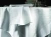 Скатерть и комплект салфеток Blanc des Vosges Ombelle белая