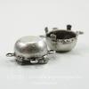 Сеттинг - основа - коннектор (2-2) для страза 13 мм (оксид серебра)