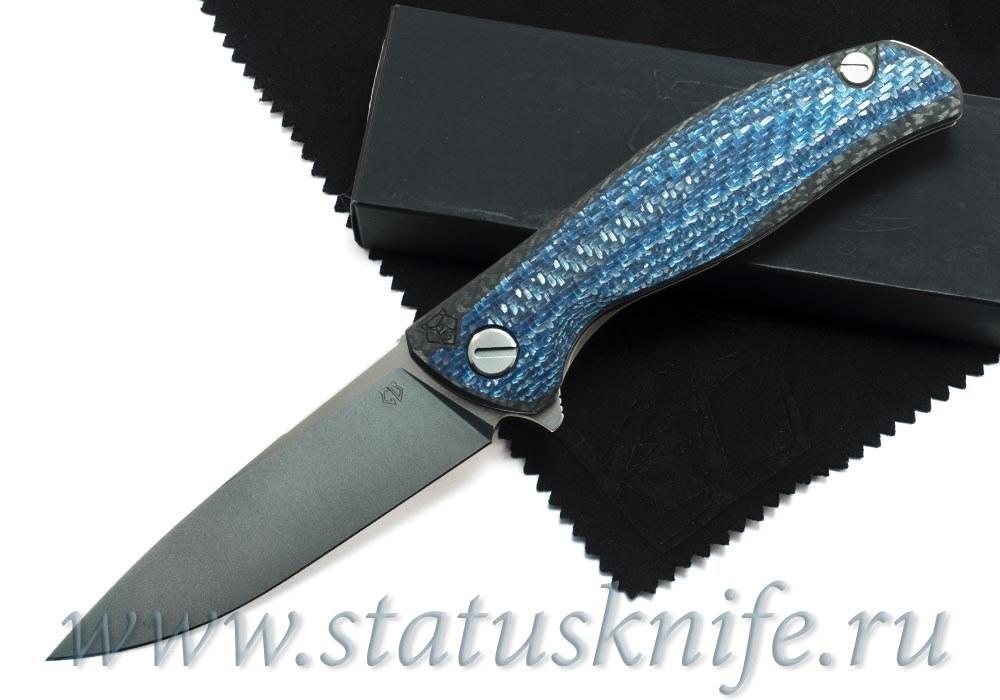 Нож Широгоров F3 S90V Blue CF Кастом Дивижн