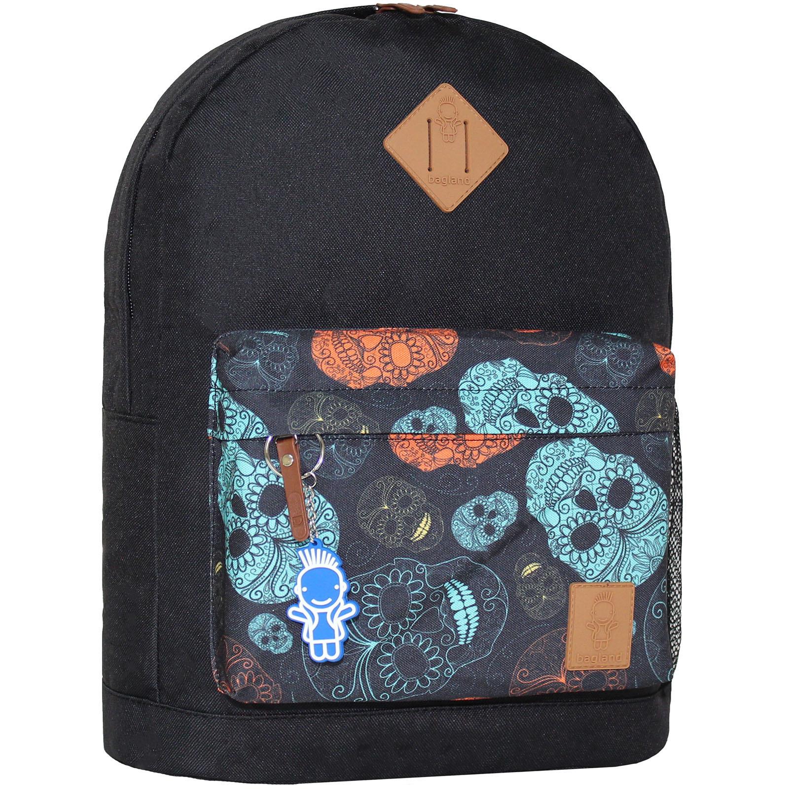 Городские рюкзаки Рюкзак Bagland Молодежный W/R 17 л. чорний 106 (00533662) IMG_5949.JPG