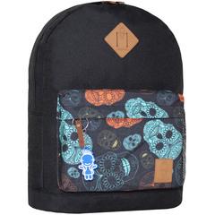 Рюкзак Bagland Молодежный W/R 17 л. чорний 106 (00533662)