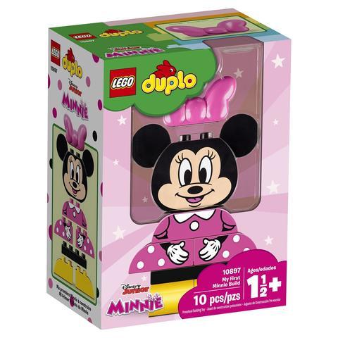 LEGO Duplo: Моя первая Минни 10897 — My First Minnie Build — Лего Дупло