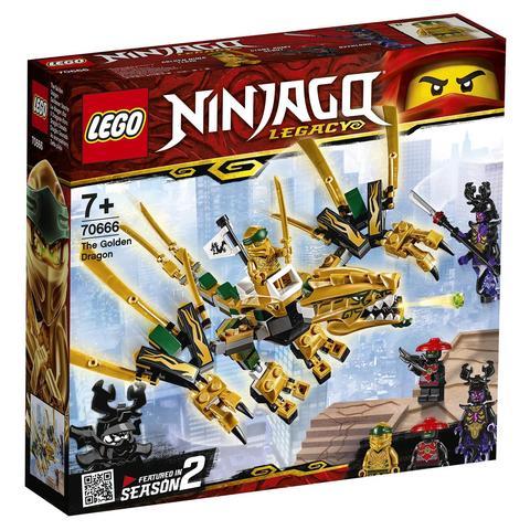 LEGO Ninjago: Золотой Дракон 70666 — The Golden Dragon — Лего Ниндзяго